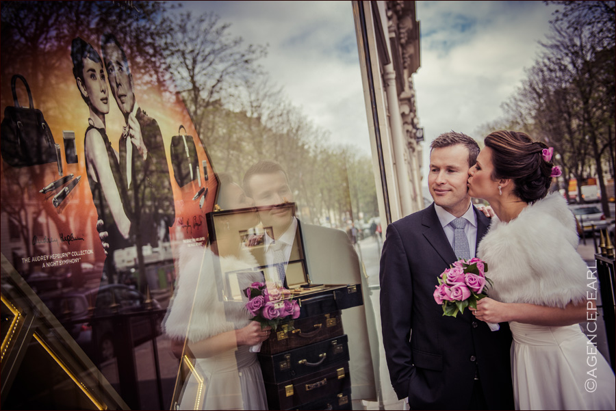 photo mariage originale Paris
