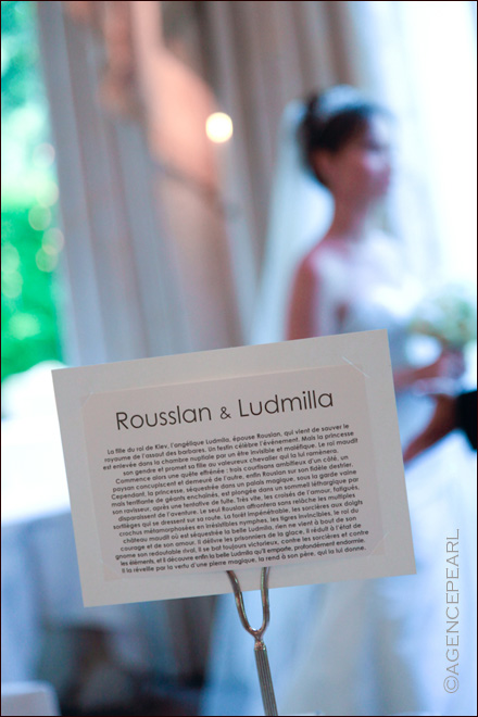 photographe mariage - Photo de mariage de la d�coration de table