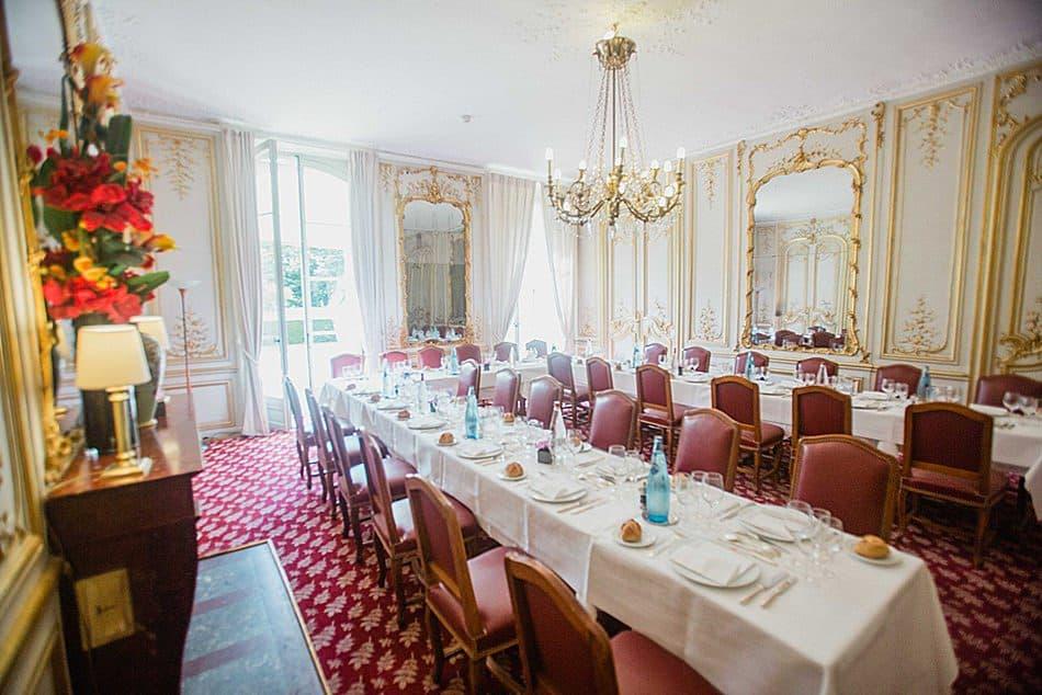 salle de reception mariage parisien prestigieux