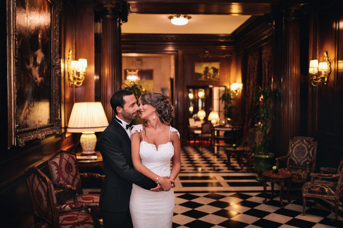 photo de mariage hotel Raphael Paris