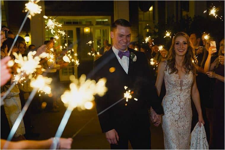Magnifique soirée pour les mariés