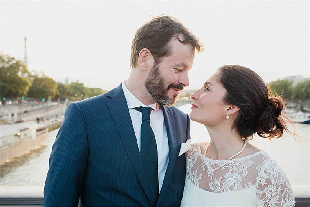 Le bonheur des mariés