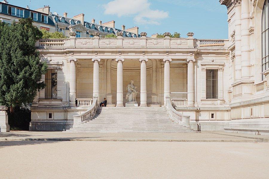 Le palais Galliera à Paris