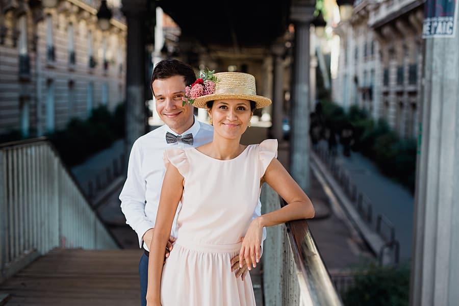 Une séance couple magnifique à Paris