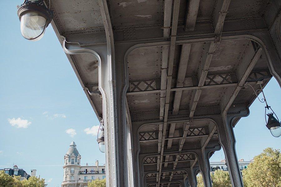 les dessous du pont Bir hakeim
