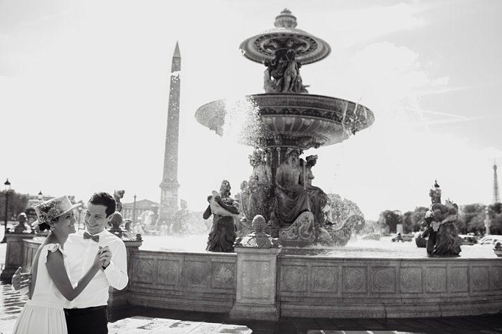 Jardin du Pavillon Royal - Tour Eiffel