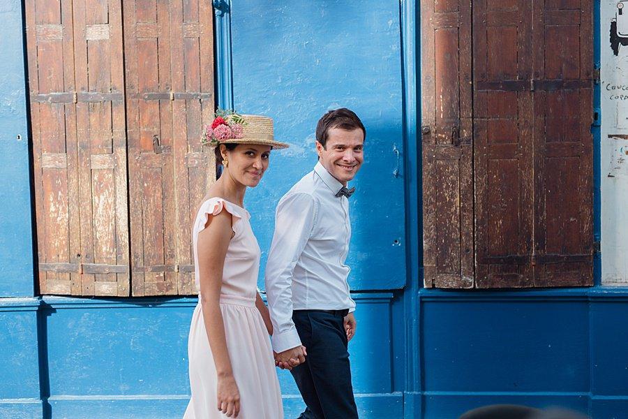 les mariés sont à Montmartre