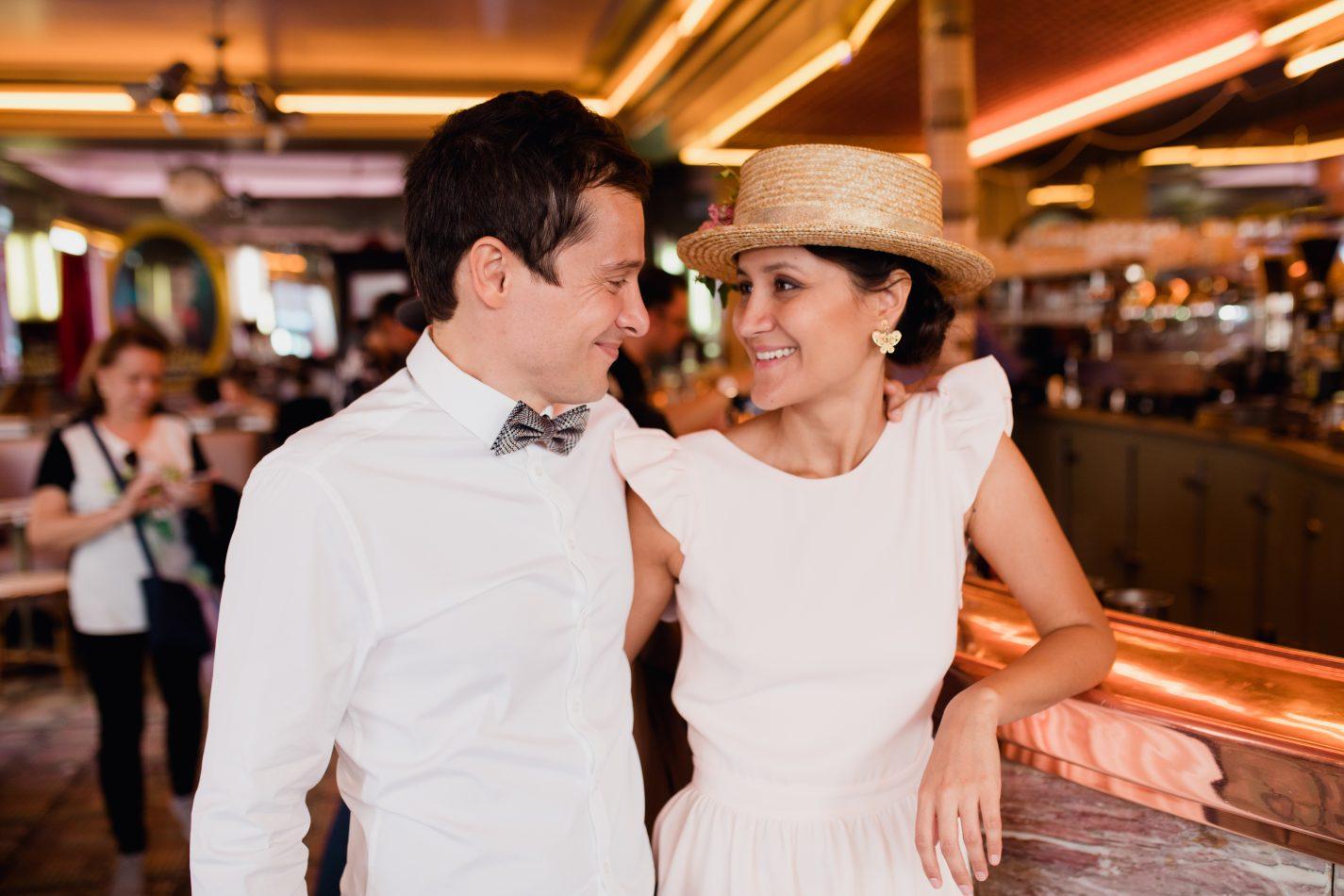 Séance Couple dans le bar d'Amélie Poulain