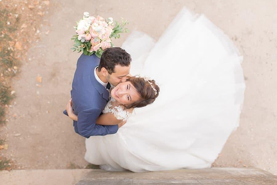 Le bisou du marié