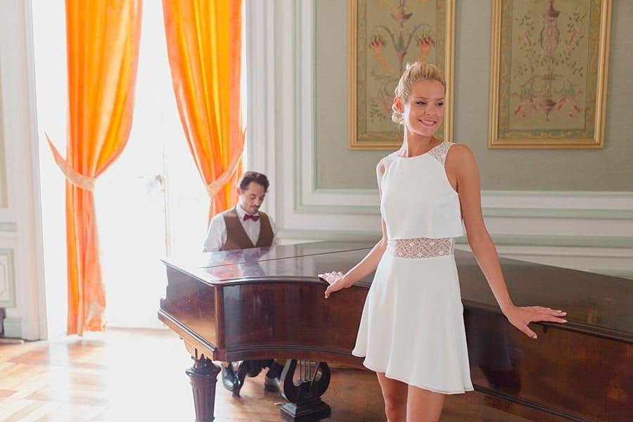 Un air de piano pour la mariée