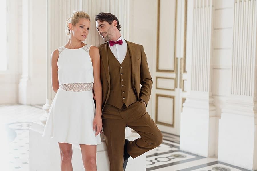 Pose glamour pour le couple