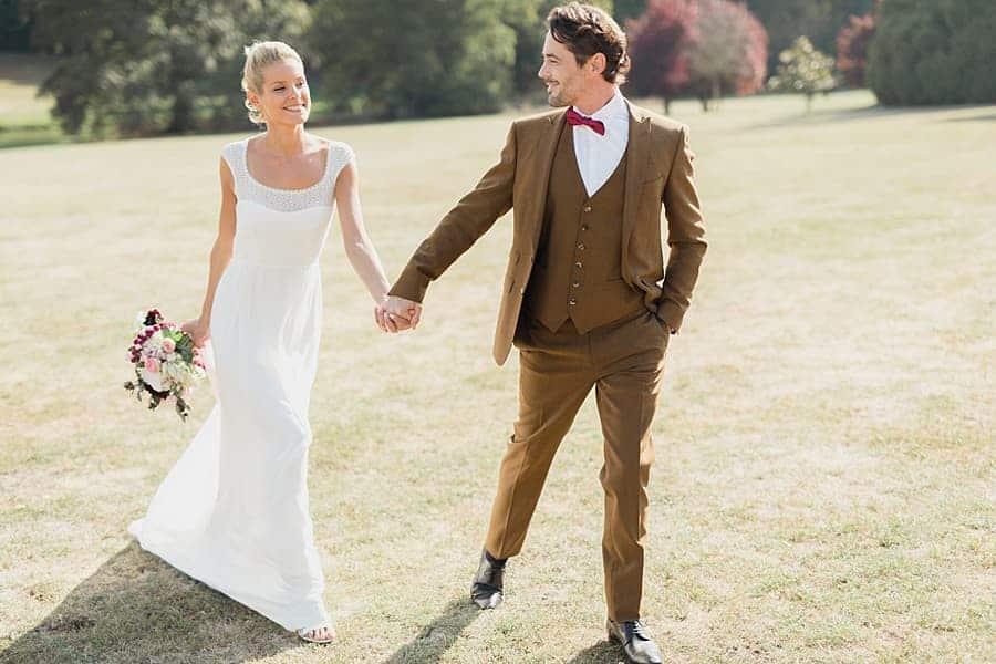 Complicité des mariés
