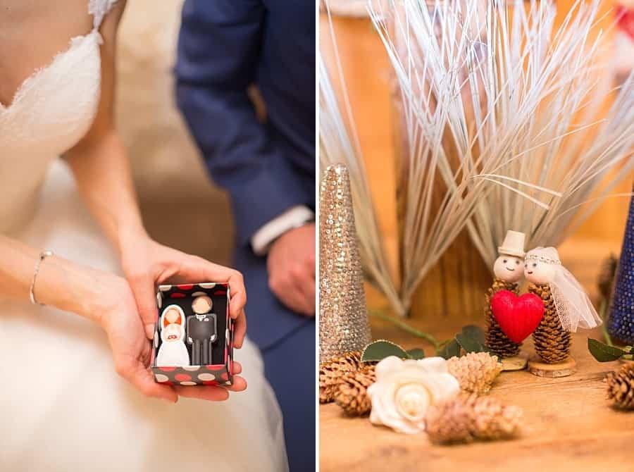 les petits personnages de mariage