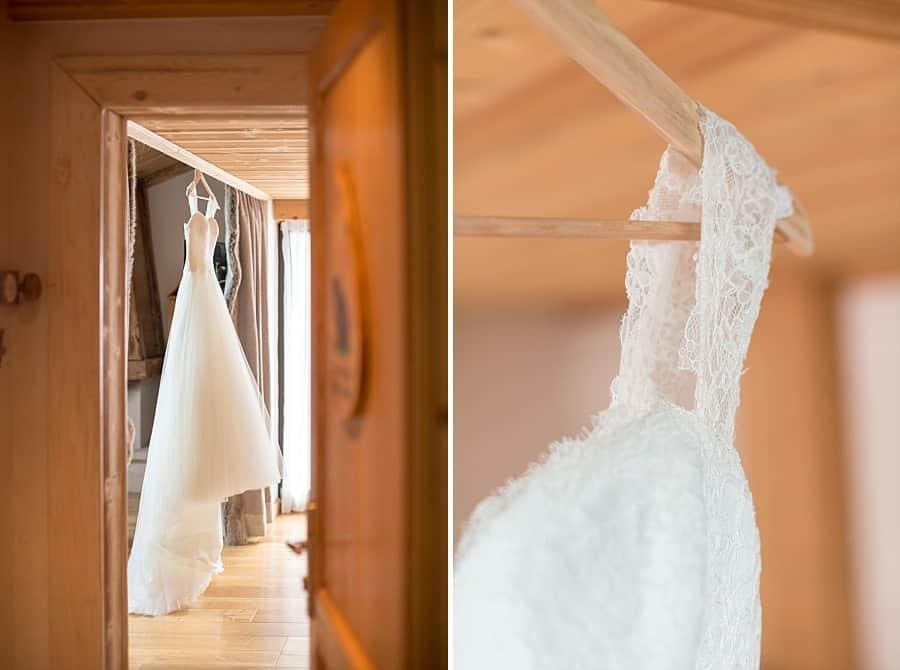 détails sur la robe