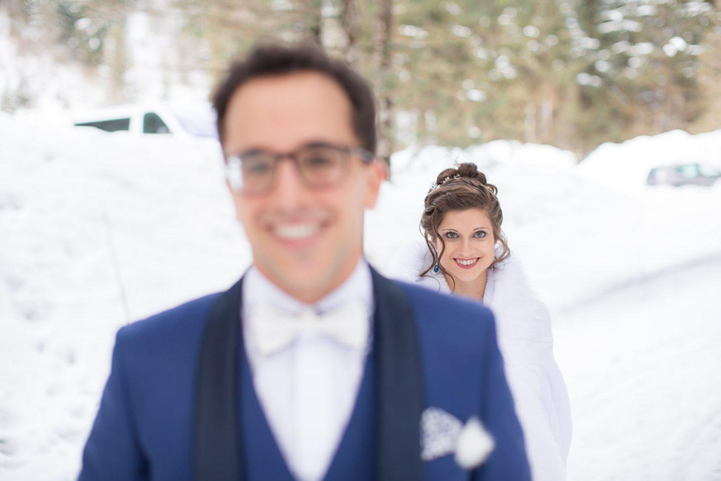 les mariés vont bientôt se découvrir