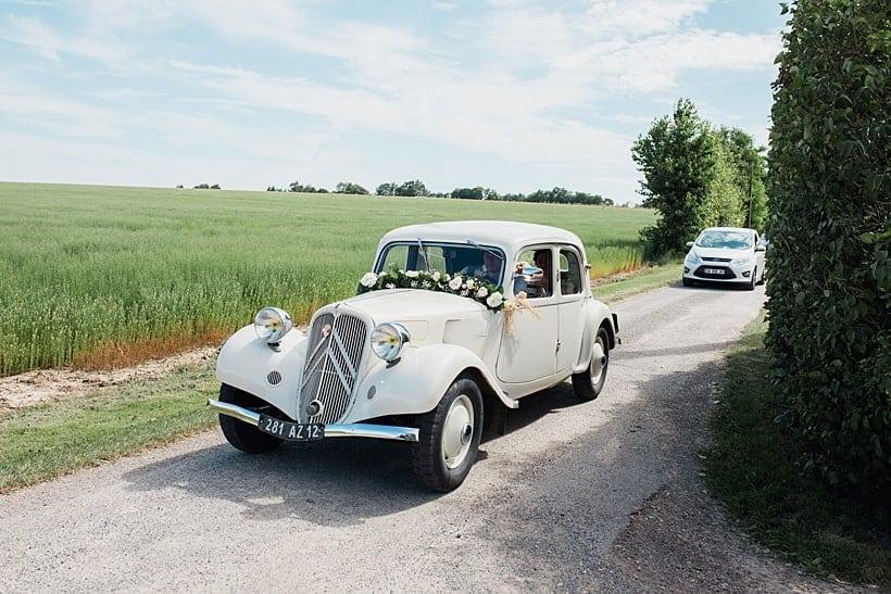 Une belle voiture ancienne