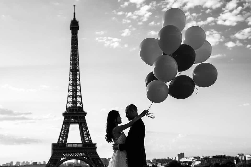 séance couple tdevant la tour eiffel