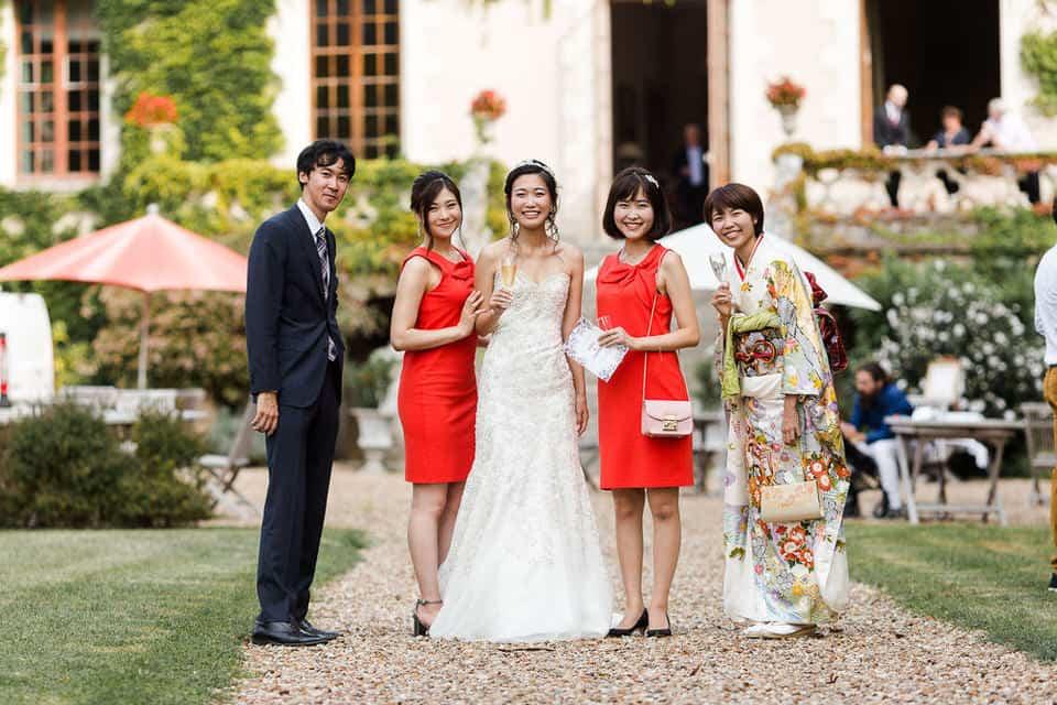 photo de groupe asiatique