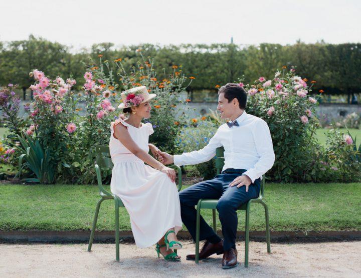 Les plus beaux jardins parisiens pour une séance en couple