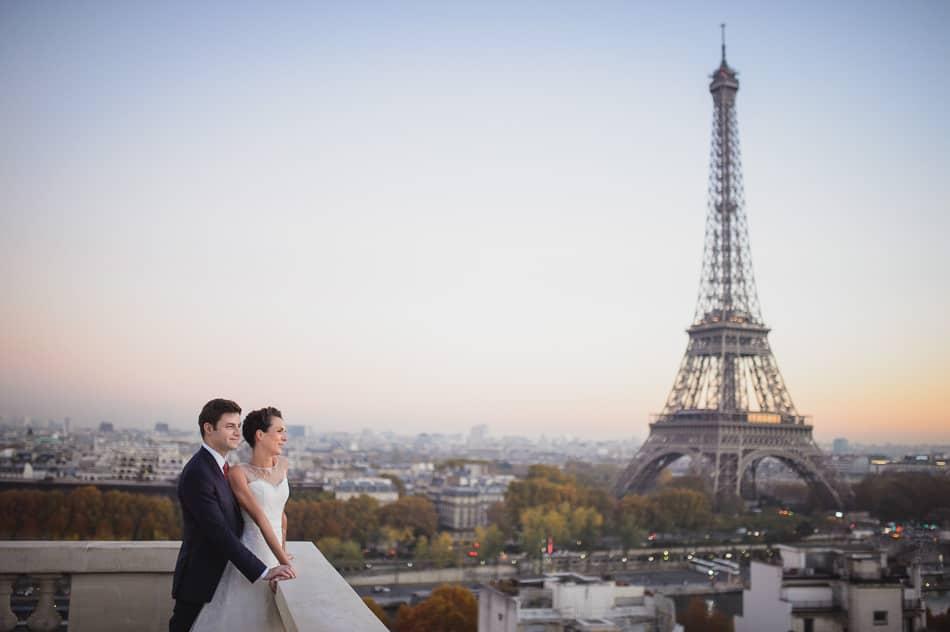 Mariage à la tour Eiffel