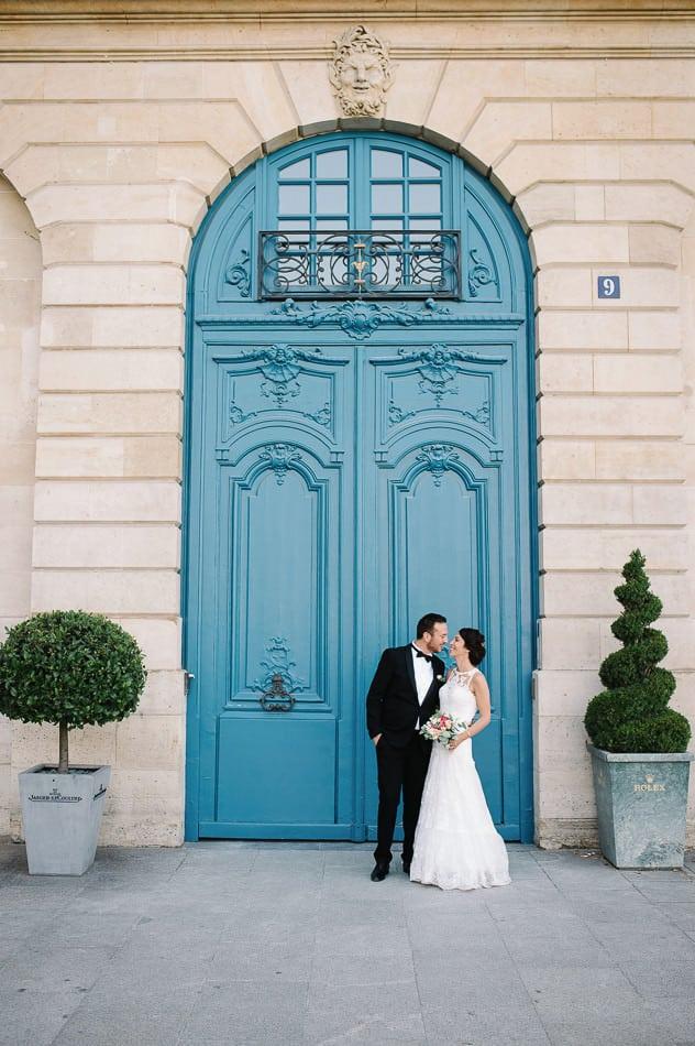 Mariage place vendome