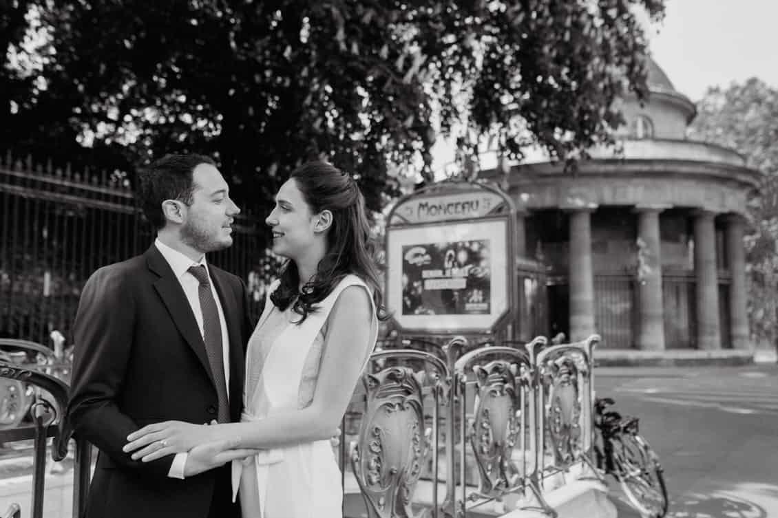 Les amoureux à Paris