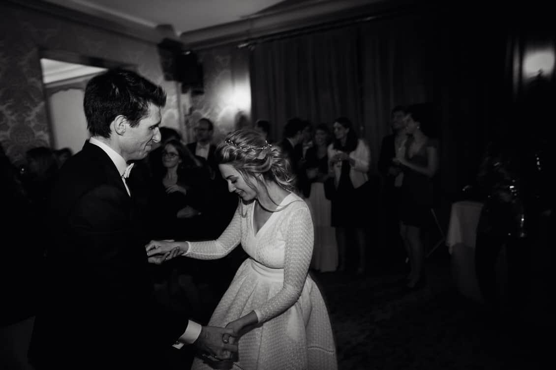 L'ouverture de bal des mariés