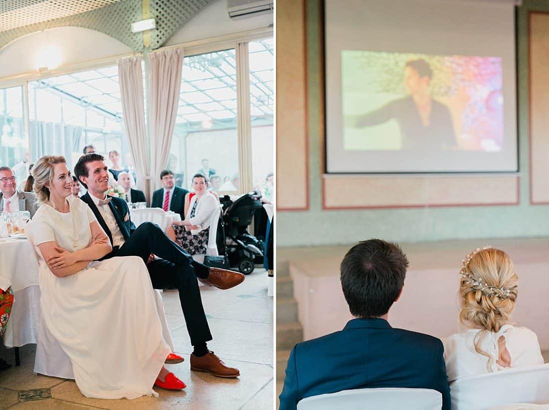 Animation slideshow pour les mariés