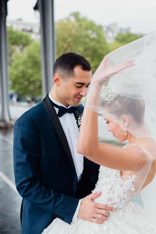 Mariage en plein coeur de Paris
